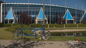 Stolen tandem bike in Calgary returned to its Netherlands owners